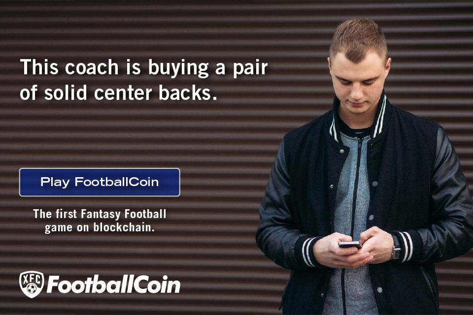 Banner ad FootballCoin